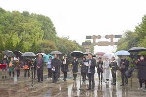 最新图片新闻:蔡甸区辛丑年祭祀伯牙子期文化活动在马鞍山知音公园广场举行